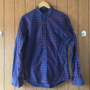 Vans long-sleeve button-down